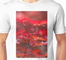 red leaves of maple Unisex T-Shirt