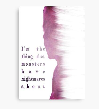 Buffy Summers - The Vampire Slayer Canvas Print
