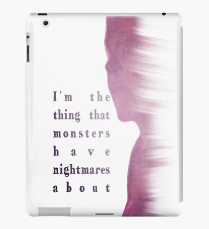 Buffy Summers - The Vampire Slayer iPad Case/Skin