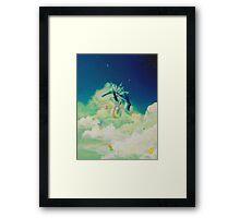 Lunar Thief Framed Print