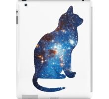 galaxy cat triangle  iPad Case/Skin