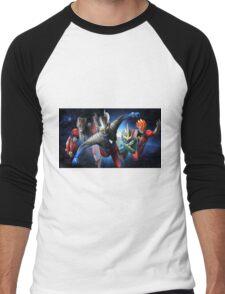 Ultraman Full Men's Baseball ¾ T-Shirt