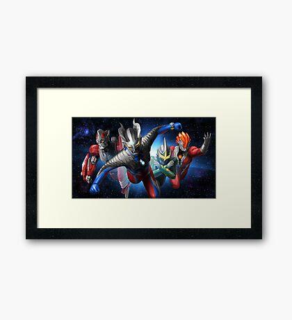 Ultraman Full Framed Print