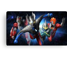 Ultraman Full Canvas Print