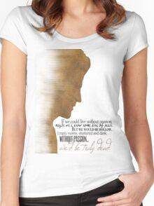 Angelus  Women's Fitted Scoop T-Shirt