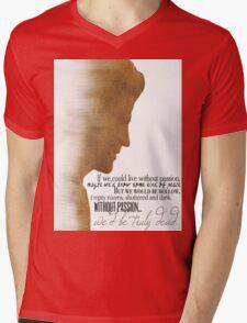 Angelus  Mens V-Neck T-Shirt