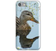 Duck Reflection iPhone Case/Skin