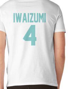 Haikyuu!! Iwaizumi Jersey Number 4 (Aoba) Mens V-Neck T-Shirt