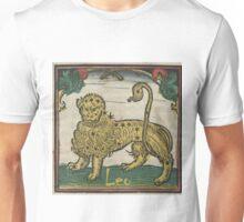 Leo 16th Century Woodcut Unisex T-Shirt