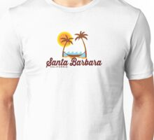 Santa Barbara - California. Unisex T-Shirt
