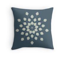 Geometric Flower Throw Pillow