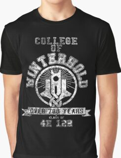 College of Winterhold - Skyrim - College Jersey Graphic T-Shirt