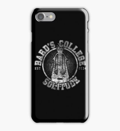 Bard's College - Skyrim - College Jersey iPhone Case/Skin