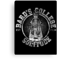 Bard's College - Skyrim - College Jersey Canvas Print