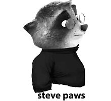 Steve Paws - Zootopica Photographic Print
