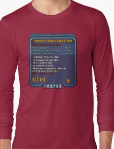 Borderlands Weapon Mod Long Sleeve T-Shirt