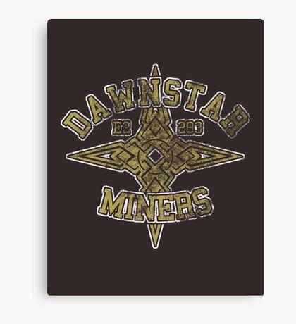 Dawnstar Miners - Skyrim - Football Jersey Canvas Print