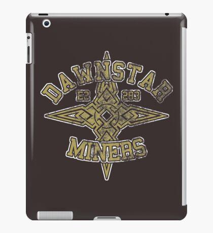 Dawnstar Miners - Skyrim - Football Jersey iPad Case/Skin