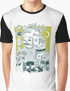 Leave your town and follow me Graphic T-Shirt
