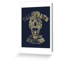 Falkreath Hunters - Skyrim - Football Jersey Greeting Card