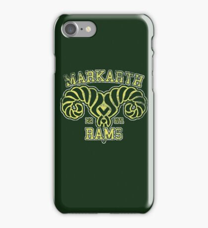 Markarth Rams - Skyrim - Football Jersey iPhone Case/Skin