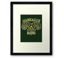Markarth Rams - Skyrim - Football Jersey Framed Print