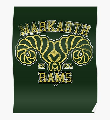 Markarth Rams - Skyrim - Football Jersey Poster