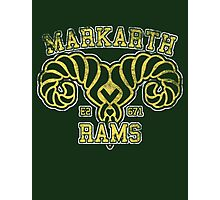 Markarth Rams - Skyrim - Football Jersey Photographic Print