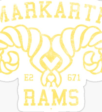 Markarth Rams - Skyrim - Football Jersey Sticker
