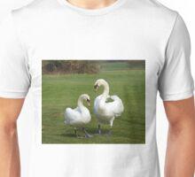 Mute Swans mated pair Unisex T-Shirt