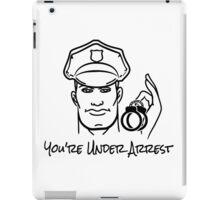Police Officer Emblem iPad Case/Skin