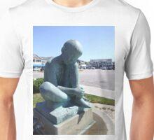Ridley Watts statue in Watch Hill, RI 2015 Unisex T-Shirt