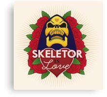Skeletor is Love Canvas Print