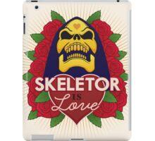 Skeletor is Love iPad Case/Skin