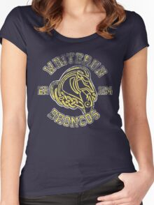 Whiterun Broncos - Skyrim - Football Jersey Women's Fitted Scoop T-Shirt