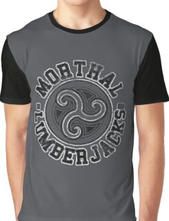 Morthal Lumberjacks - Skyrim - Football Jersey Graphic T-Shirt