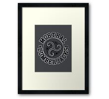 Morthal Lumberjacks - Skyrim - Football Jersey Framed Print