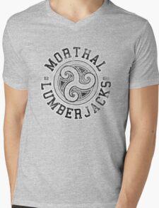 Morthal Lumberjacks - Skyrim - Football Jersey Mens V-Neck T-Shirt