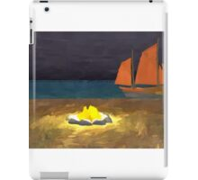 Samurai school bonfire iPad Case/Skin