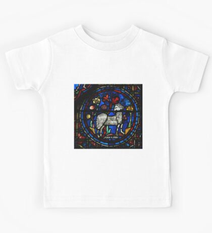 Aries Stained Glass Kids Tee