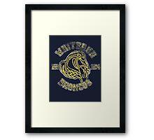 Whiterun Broncos - Skyrim - Football Jersey Framed Print