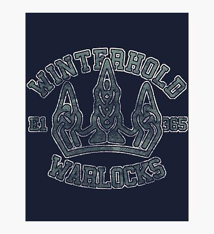 Winterhold Warlocks - Skyrim - Football Jersey Photographic Print