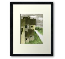 LANDSCAPE -1A  2016 by Ashley Pandita  Framed Print
