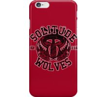 Solitude Wolves - Skyrim - Football Jersey iPhone Case/Skin
