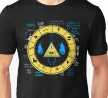 Gravity Falls - Bill Cipher Zodiac Unisex T-Shirt