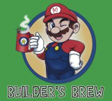 Builder's Brew! (V. 2) Kids Tee