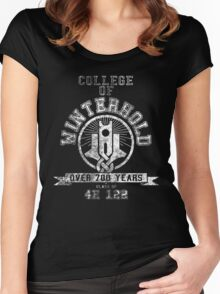 College of Winterhold - Skyrim - College Jersey Women's Fitted Scoop T-Shirt