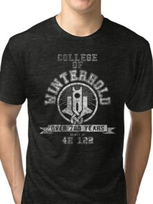 College of Winterhold - Skyrim - College Jersey Tri-blend T-Shirt