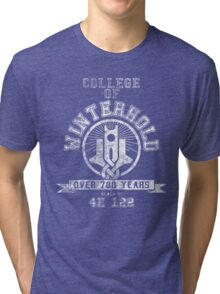 College of Winterhold - Skyrim - College Jersey Tri-blend T-Shirt
