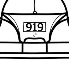 Porsche 919 Hybrid Front Sticker